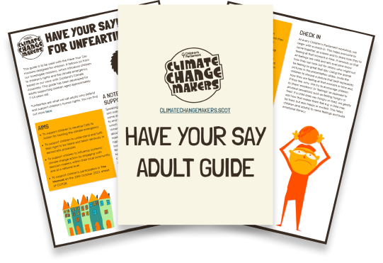 Have Your Say - Adult Guide