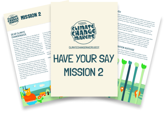 Have Your Say - Mission 2